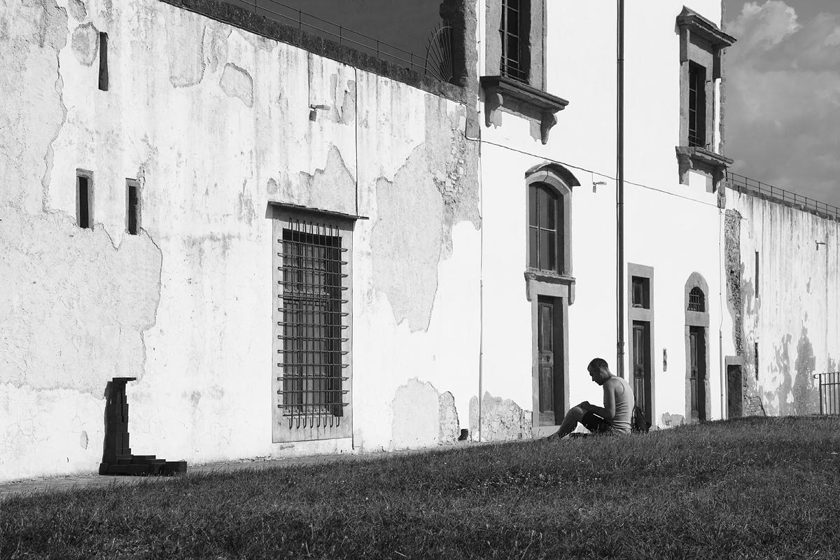 Florence, Antony Gormley, Human, Forte di Belvedere