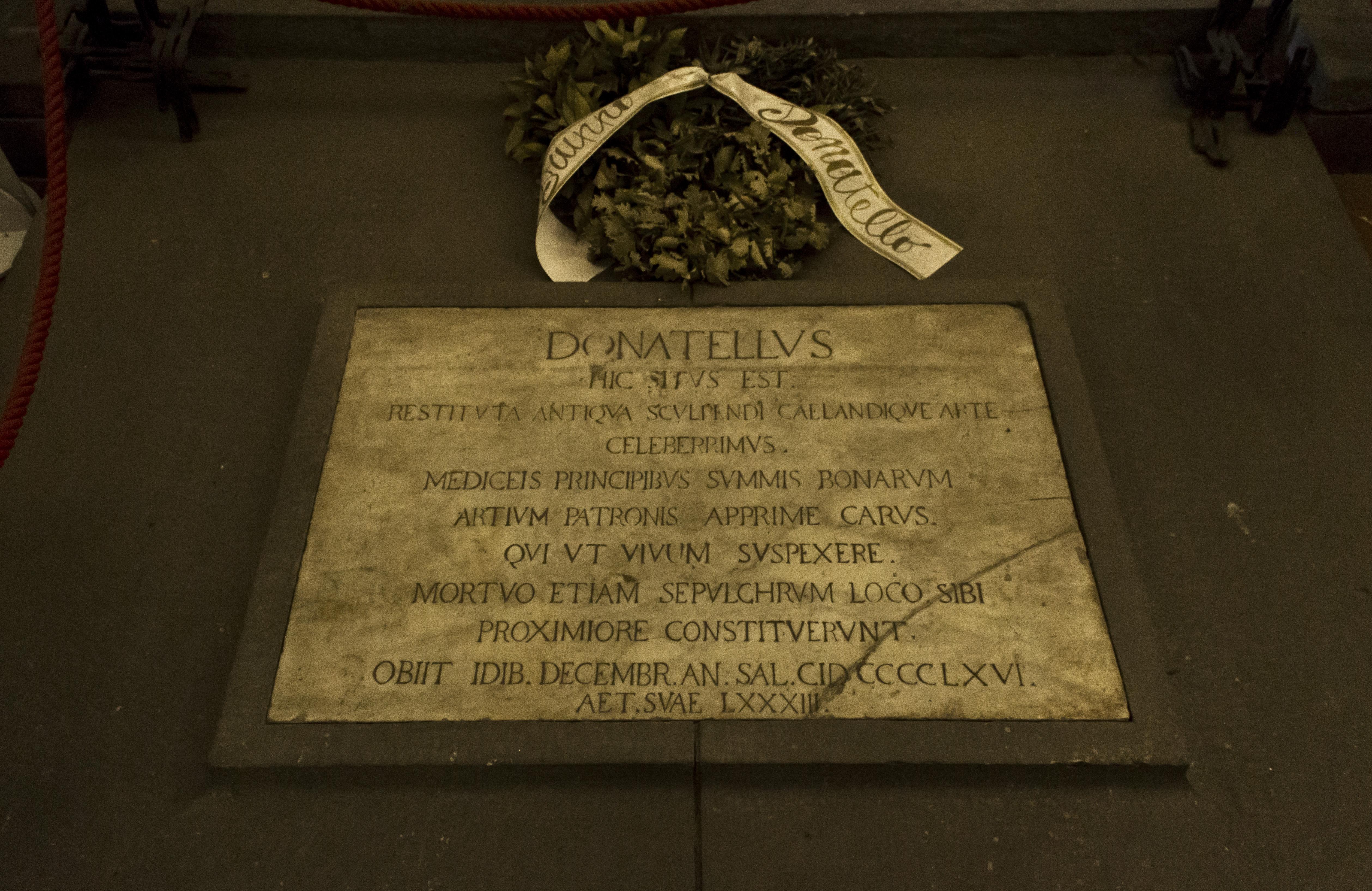 Florence Grave Donatello