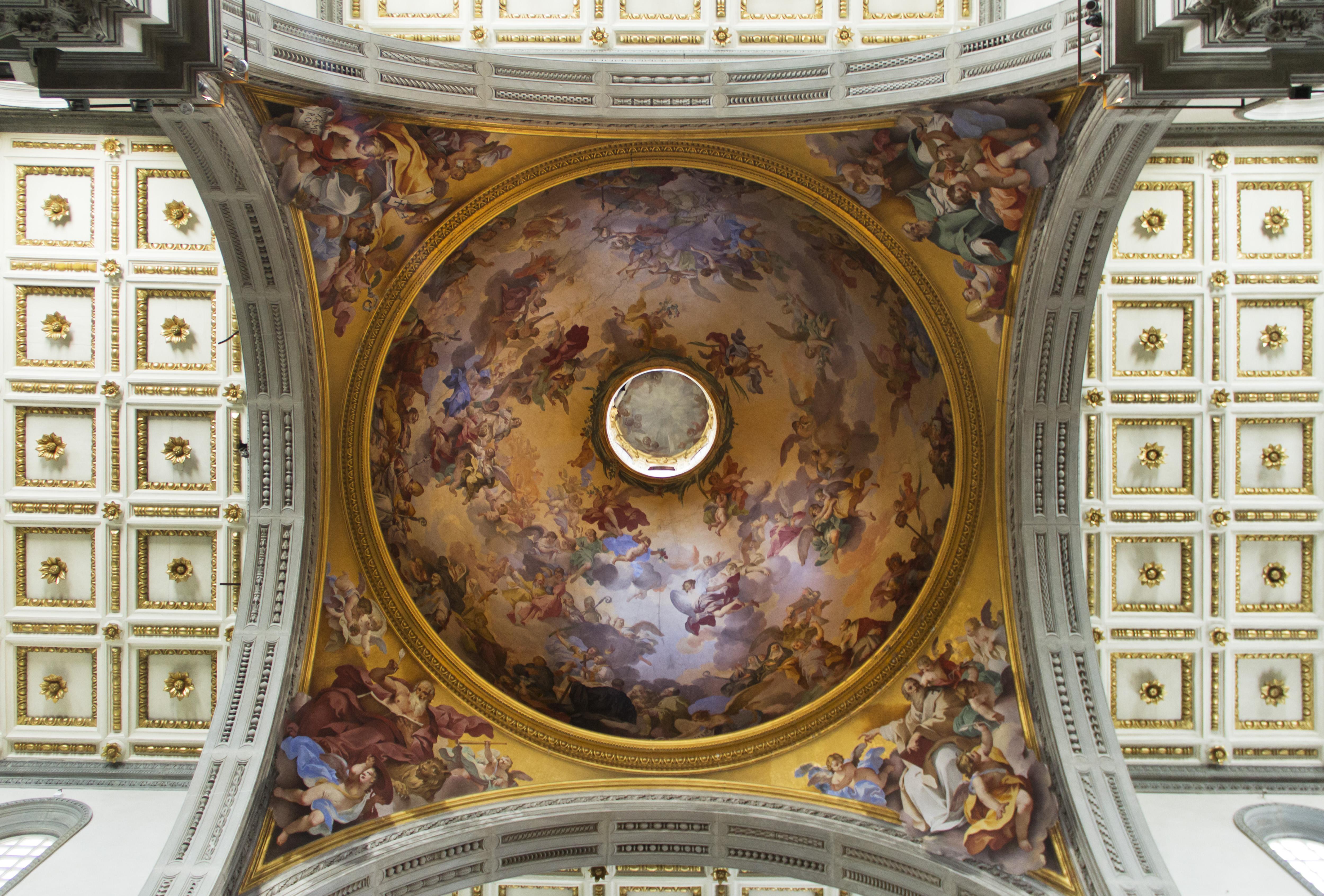 Florenz, Kuppel der Hauptchorkapelle von San Lorenzo
