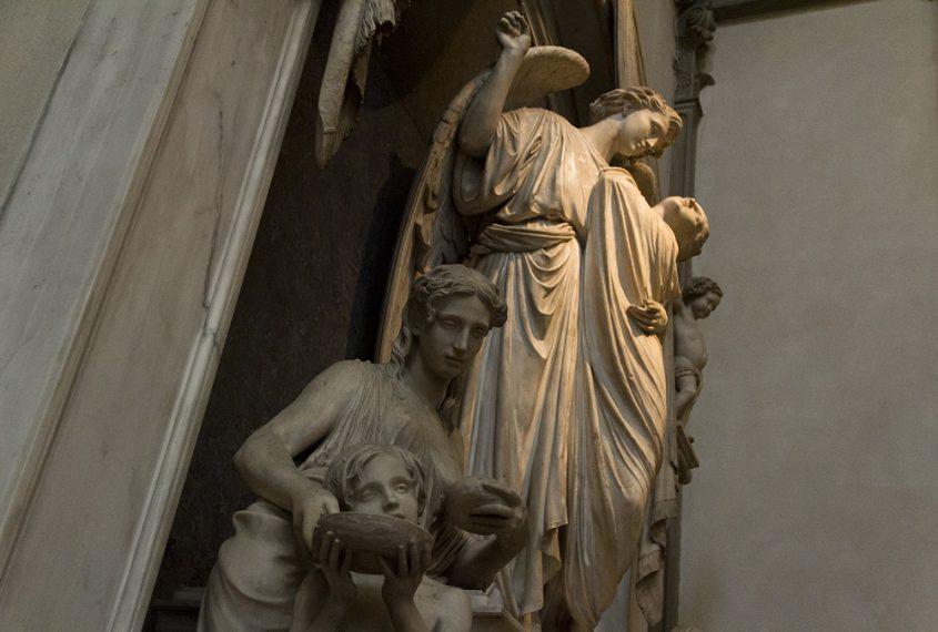Florenz, Seitlicher Altar in San Lorenzo