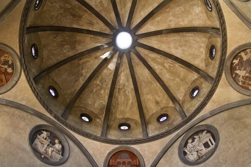 Florenz, Kuppel der Alten Sakristei, San Lorenzo, Bruneleschi