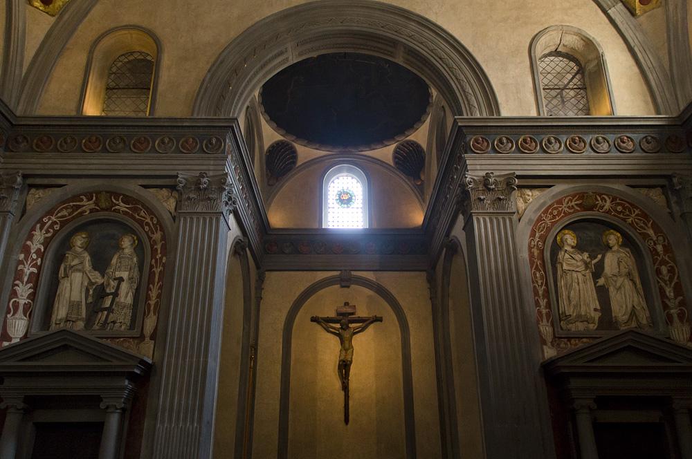 Florenz, Chorkapelle Alte Sakristei, San Lorenzo, Bruneleschi