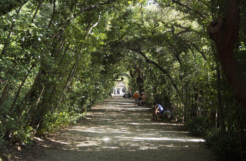Firenze, Giardino di Boboli, Ragnaie