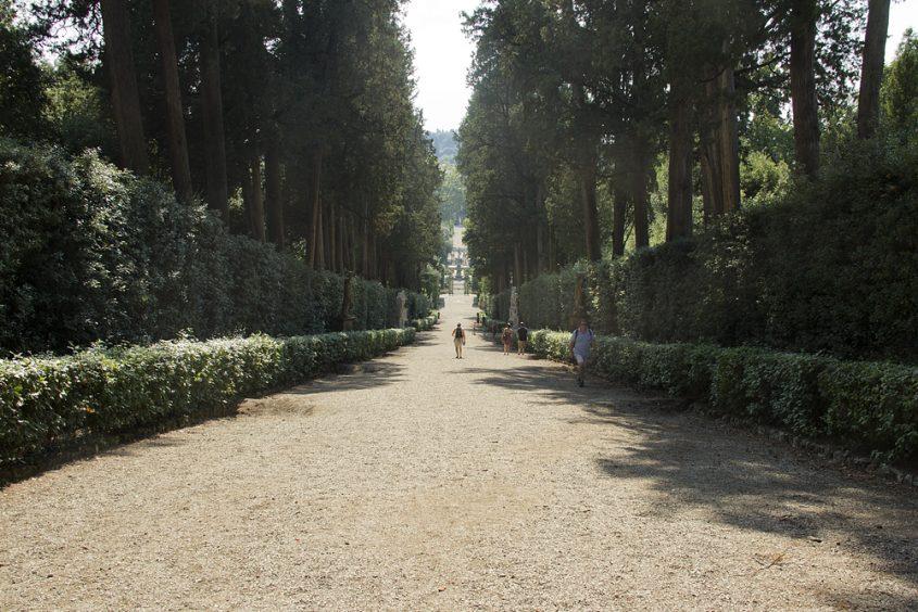Firenze, Giardino di Boboli, Viottolone
