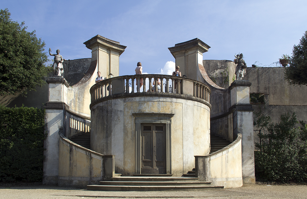 Firenze, Giardino di Boboli, Garten des Kavaliers