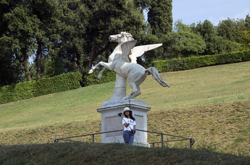Firenze, Giardino di Boboli, Pegaus
