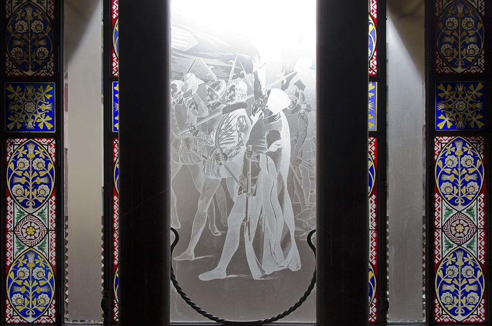 Barcelona, Palau Güell, Antoni Gaudi, Fenster