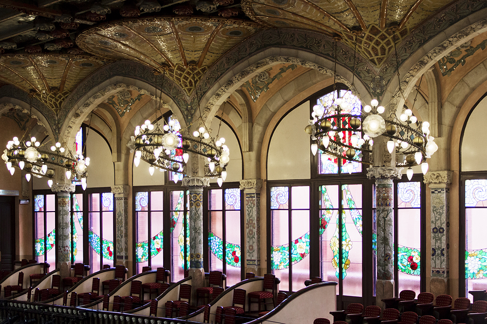 Barcelona, Palau de la Música Catalana, Zweiter Rang