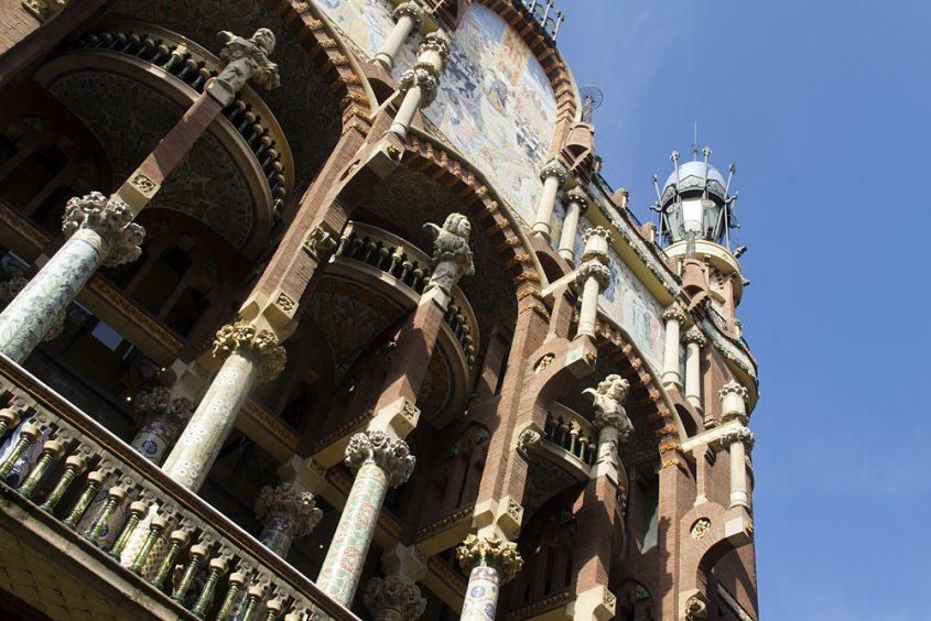 Barcelona, Palau de la Música Catalana,