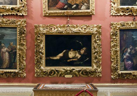 Palazzo Pitti, Galleria Palatina, Sleeping Cupid