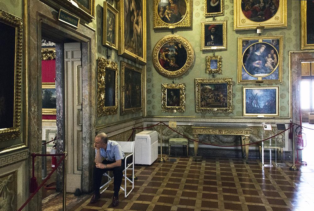 Palazzo Pitti, Galleria Palatina, Saal des Prometheus
