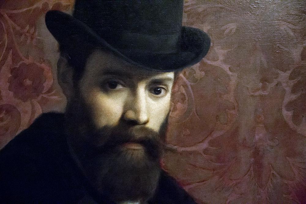 Palazzo Pitti, Galeria d'Arte Moderna, Antonio Puccinelli, Portrait Pietro Tincolini