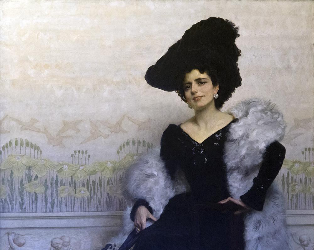 Palazzo Pitti, Galeria d'Arte Moderna, Edoardo Gelli, Portrait, Bruna Pagliano