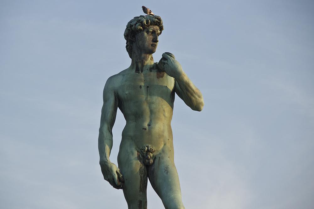 Florenz, Piazzale Michelangelo, David