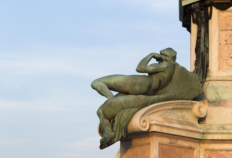 Florenz, Piazzale Michelangelo, Dawn