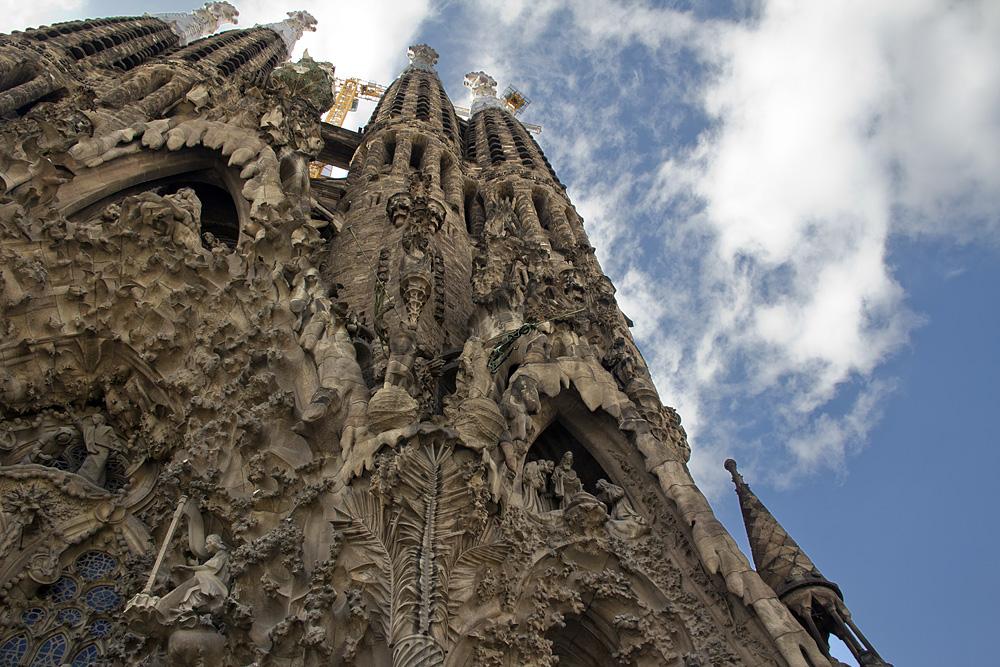 Barcelona, Sagrada Familia, Antoni Gaudi, Weihnachtsfassade