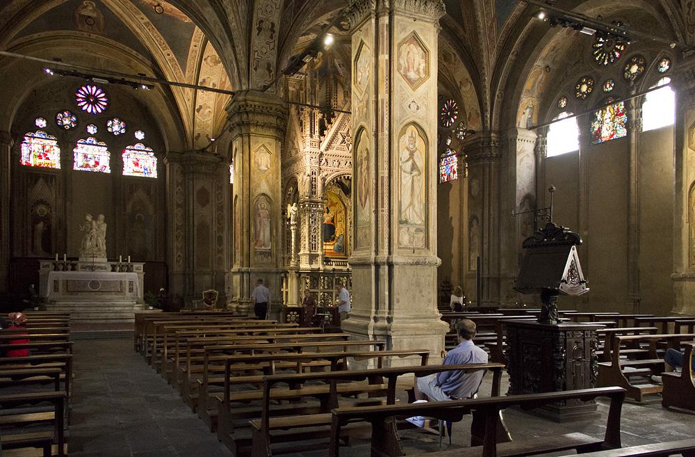 Firenze, Or San Michele, Erdgeschoss, Orcagna