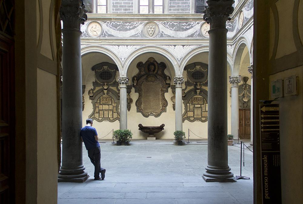 Florenz, Palazzo Medici Riccardi, Innenhof