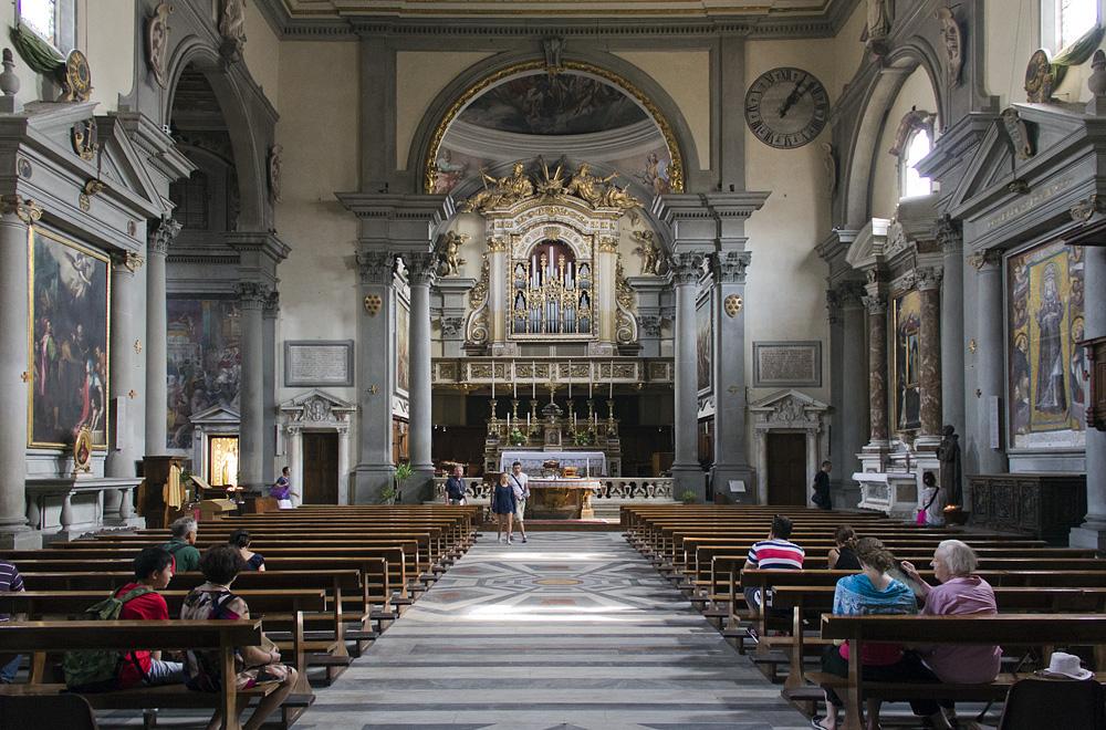 Florenz, San Marco, Kirchenraum und Chor