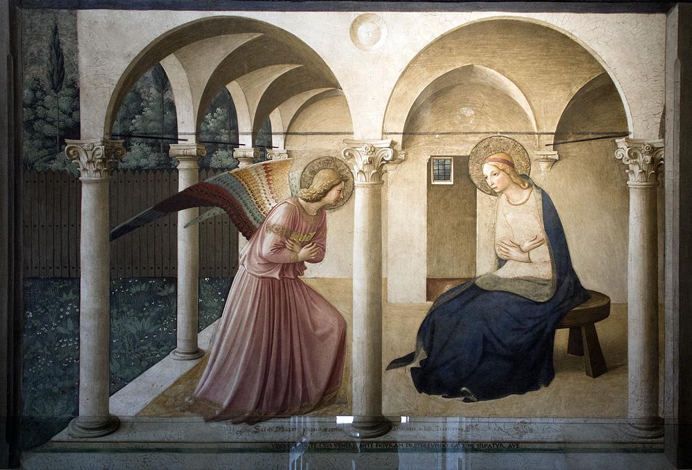 San Marco, San Marco, Verkündigung von Fra Angelico