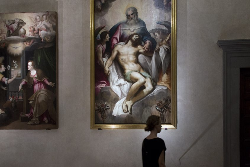 Florenz, Santa Croce, Lodovico Cardi detto il Cigoli, Trinità