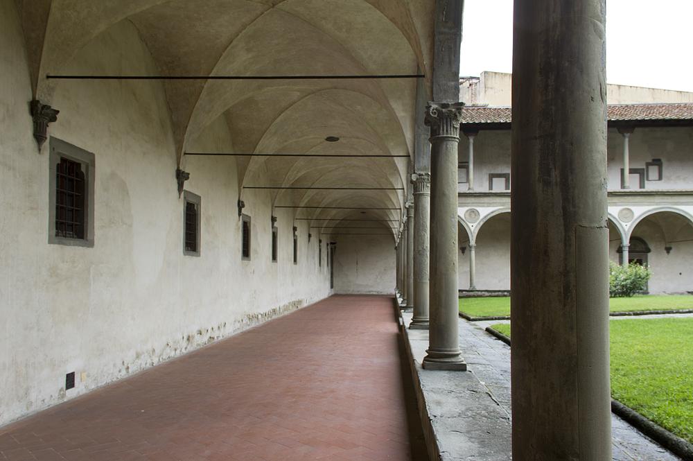 Florenz, Santa Croce, Chiostro (Kreuzgang des Klosters)