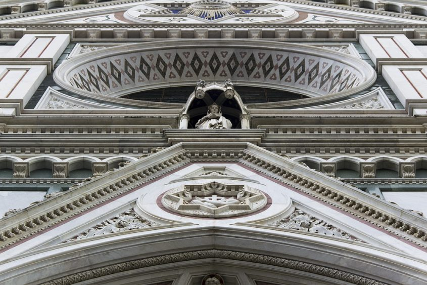 Florenz, Santa Croce, Fassade