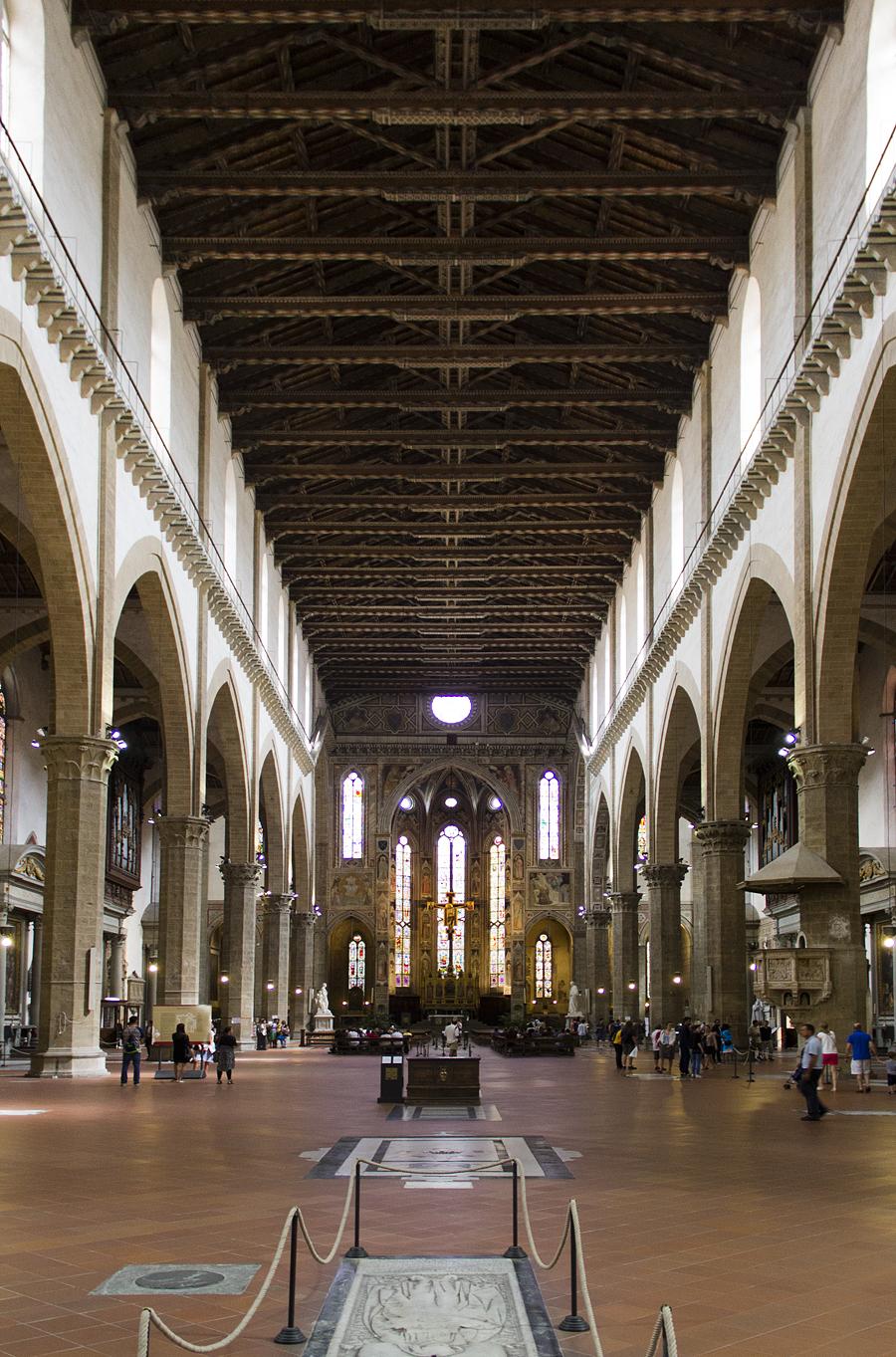 Santa Croce, Innenraum