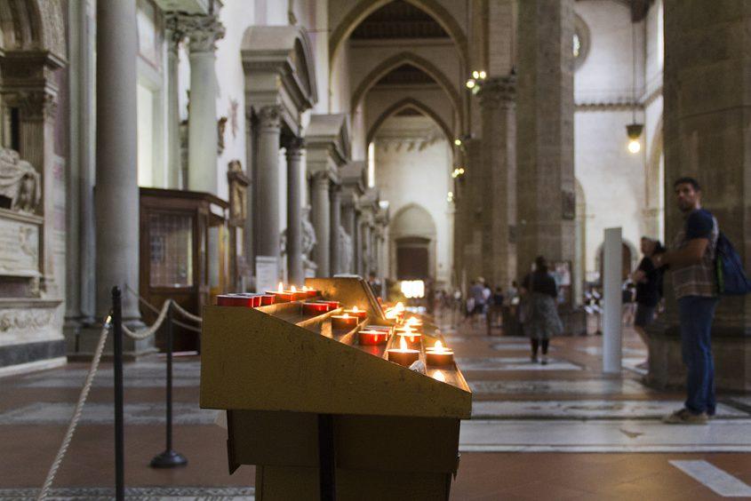 Florenz, Santa Croce, Seitenschiff