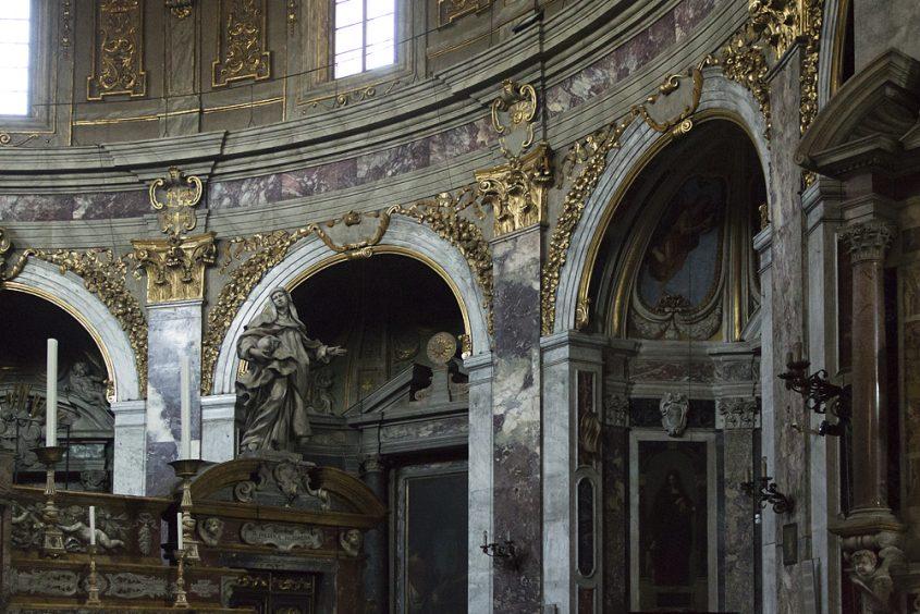 Florenz, Santissima Annunziata, Rotunde, Chor