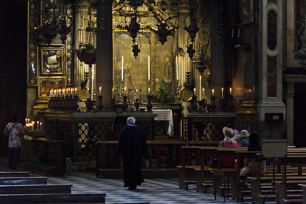 Florenz, Santissima Annunziata,Tabernakel von Michelozzo