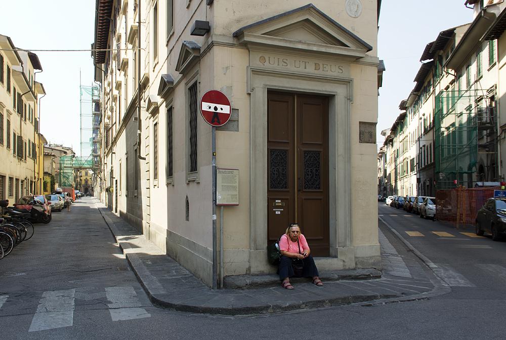 Florenz, Via dei Pilastri