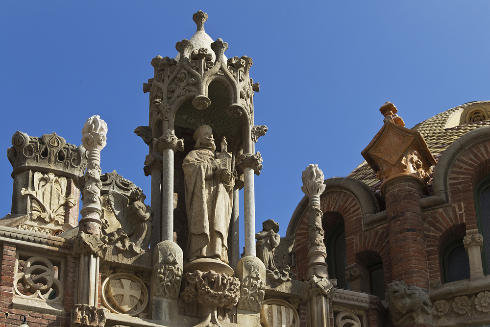 Barcelona, Hospital de la Santa Creu i Sant Pau,
