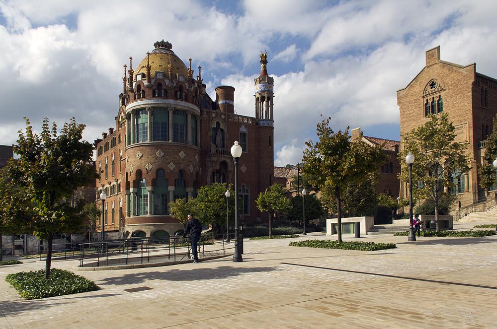 Barcelona, Hospital de la Santa Creu i Sant Pau, Pavelló de Nostra Senyora de Montserrat
