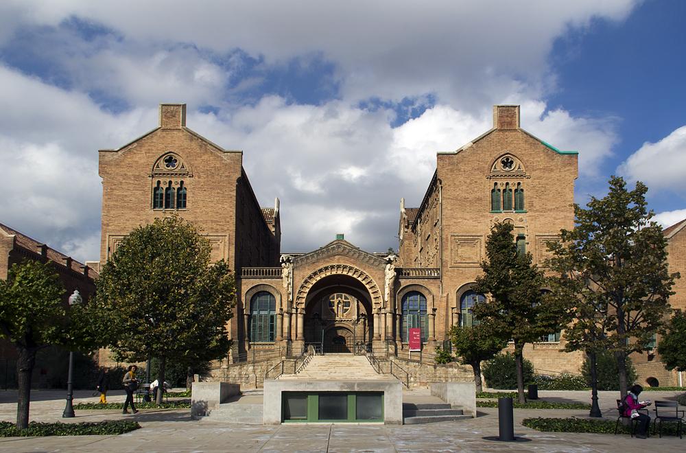Barcelona, Hospital de la Santa Creu i Sant Pau, Kloster