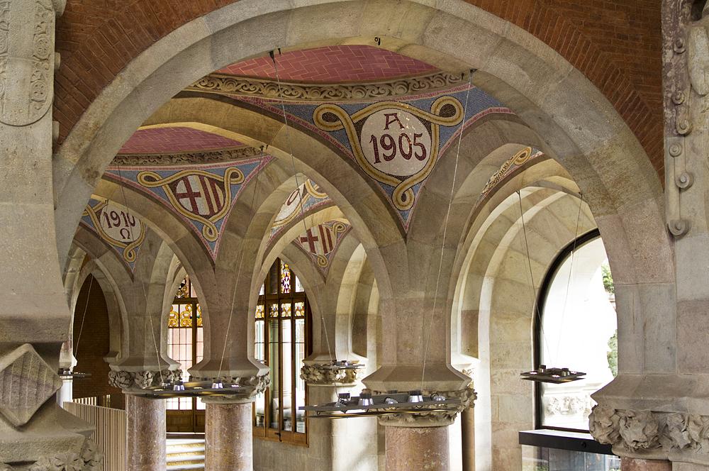 Barcelona, Hospital de la Santa Creu i Sant Pau, Administració, Halle