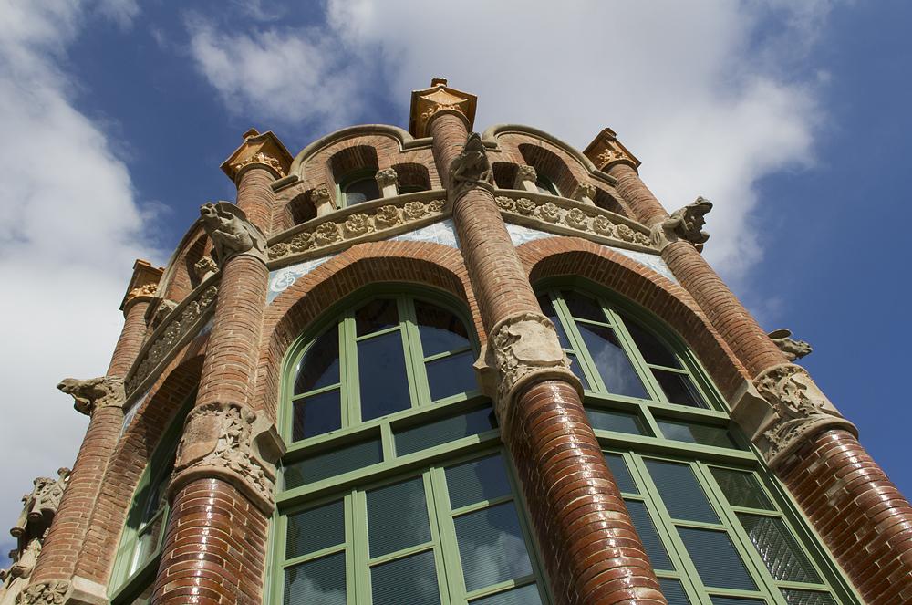 Barcelona, Hospital de la Santa Creu i Sant Pau, Pavellò de Sant Rafael