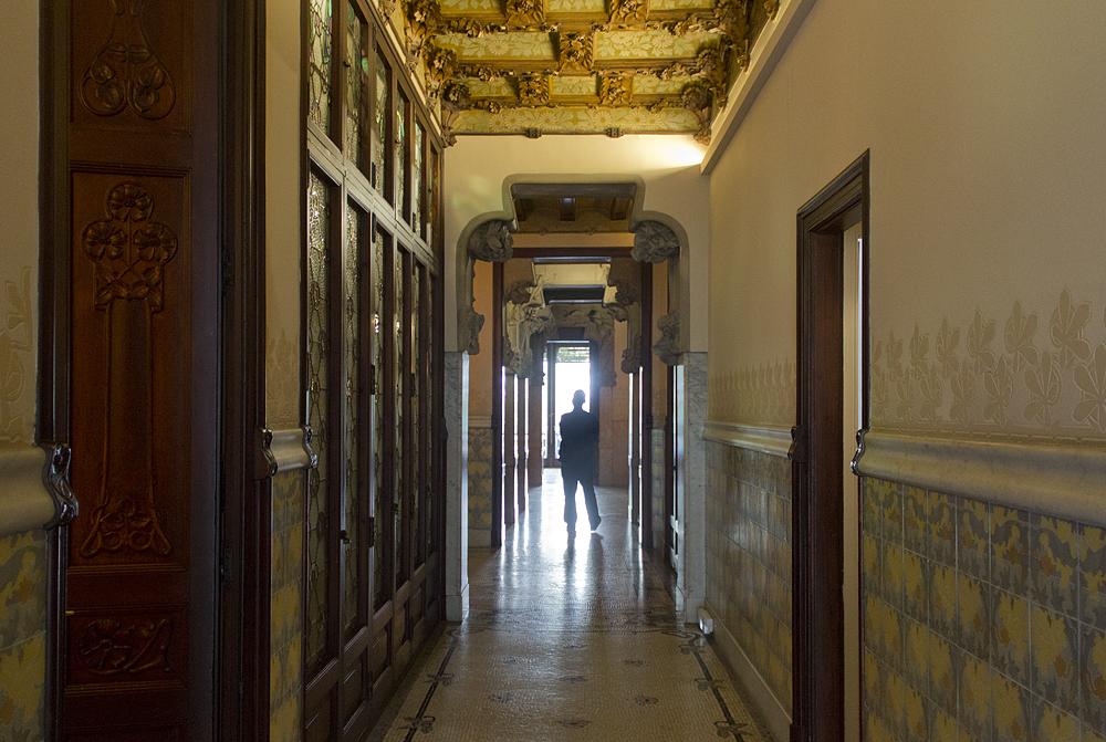 Barcelona, Casa Lleó i Morera von Lluís Domènech i Montaner, Wohnung