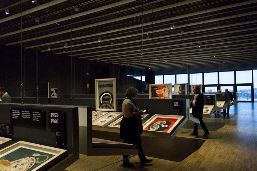 Museu del Disseny Barcelona, Ausstellung El disseny gràfic: d'ofici a professió (1940-1980)