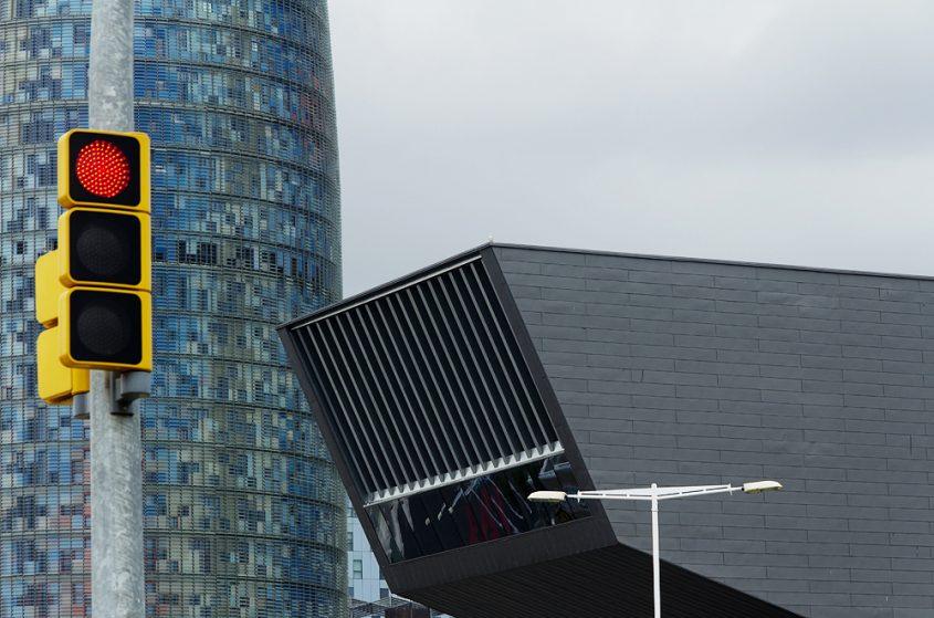 Torre Agbar und Disseny Hub Barcelona, DHUB