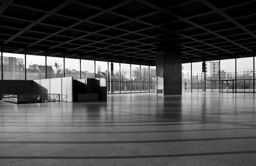 Neue Nationalgalerie, Berlin, Obere Halle