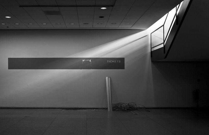 Neue Nationalgalerie, Berlin, Mies van der Rohe,Unteres Foyer