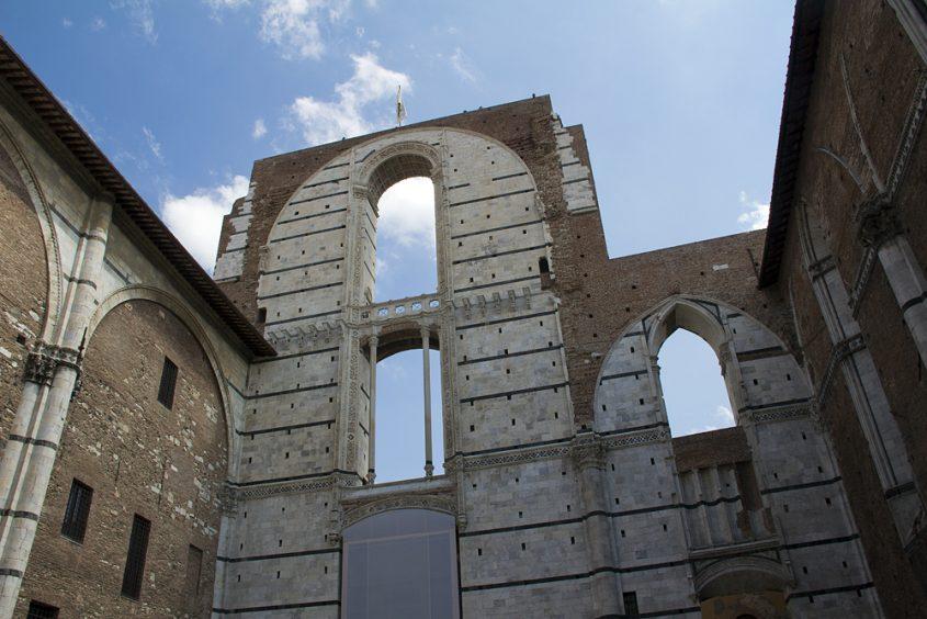 Siena, Duomo Facciatione Duomo Nuovo
