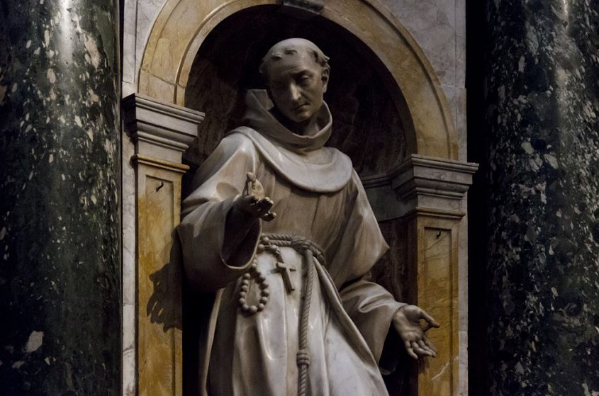 Duomo die Siena, Antonio Raggi, San Bernardino da Siena