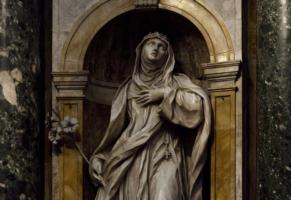Santa Caterina da Siena, Ercole Ferrata