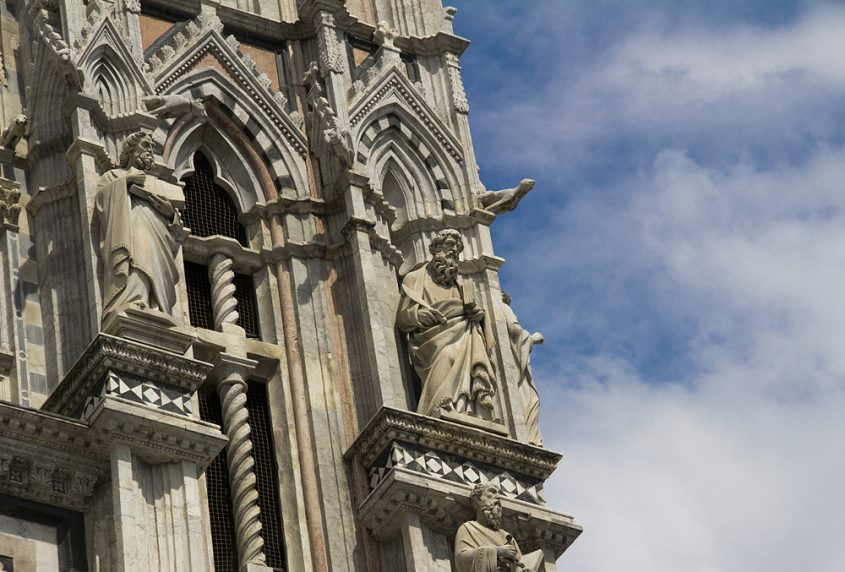 Siena, Fassade des Doms