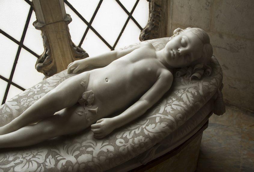 Siena, Museo dell'Opera del Duomo, Giovanni Duprè, Schlaf der Unschuld