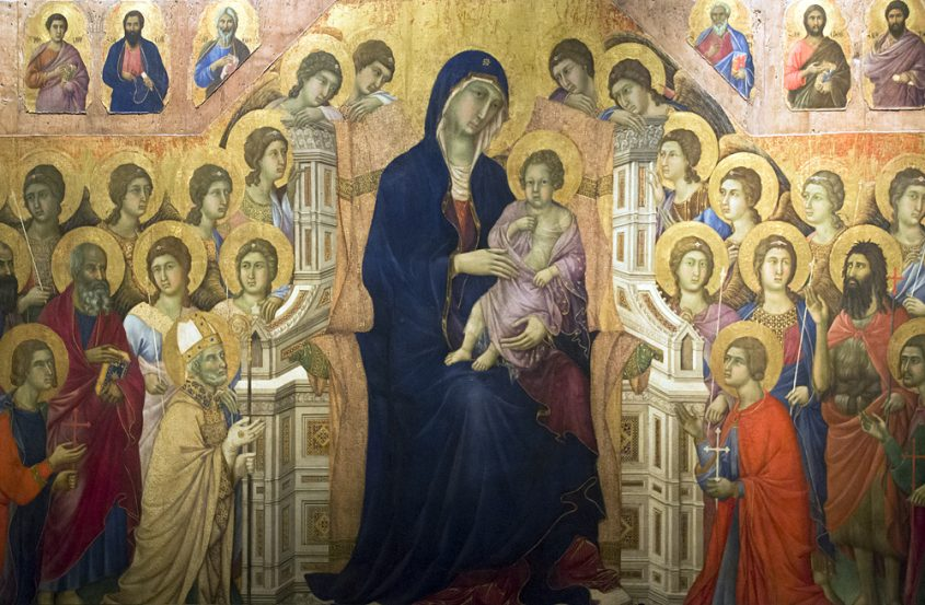Siena, Museo dell'Opera del Duomo, Maestà von Duccio di Buoninsegna