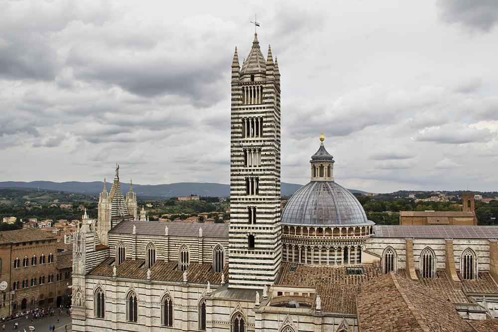 Siena, Dom, Panorama del Facciatone