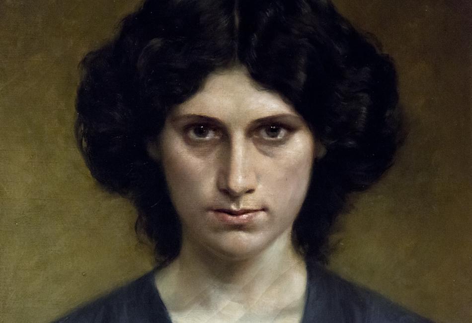 Barcelona, Antoni Fabrés, Portrait Laura, Museu Nacional d'Art de Catalunya